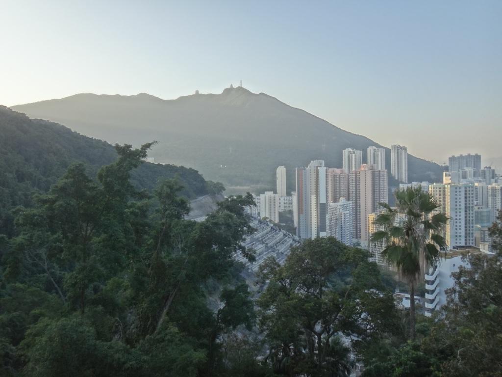 Chai Wan area in Hongkong