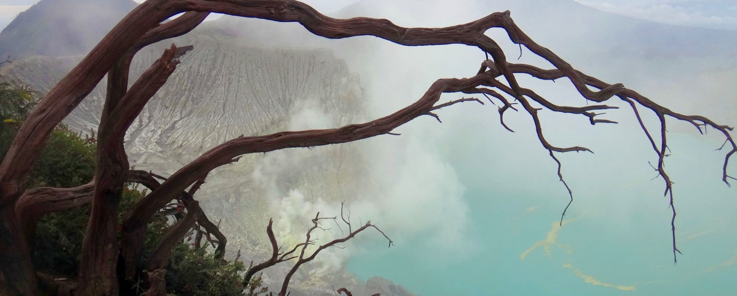 Crater of Mount Ijen