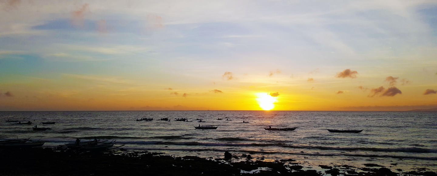 Sunrise near Oslob