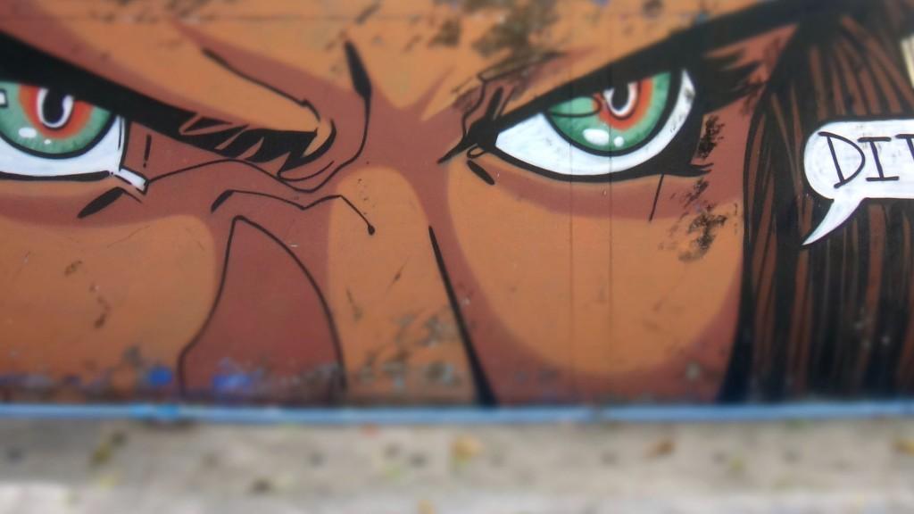 Mural at Tonsai Beach