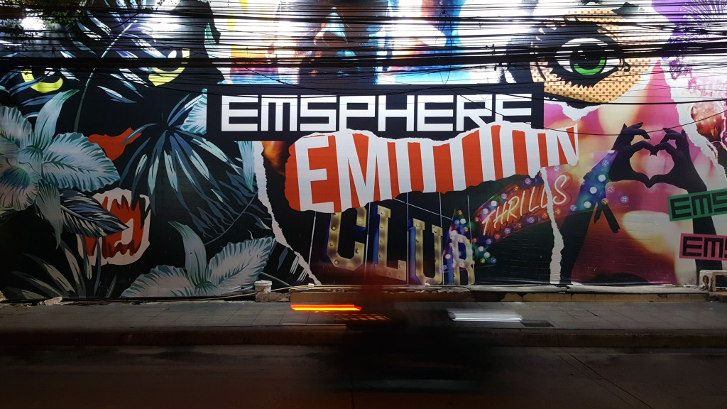Emsphere advertisment, Bangkok