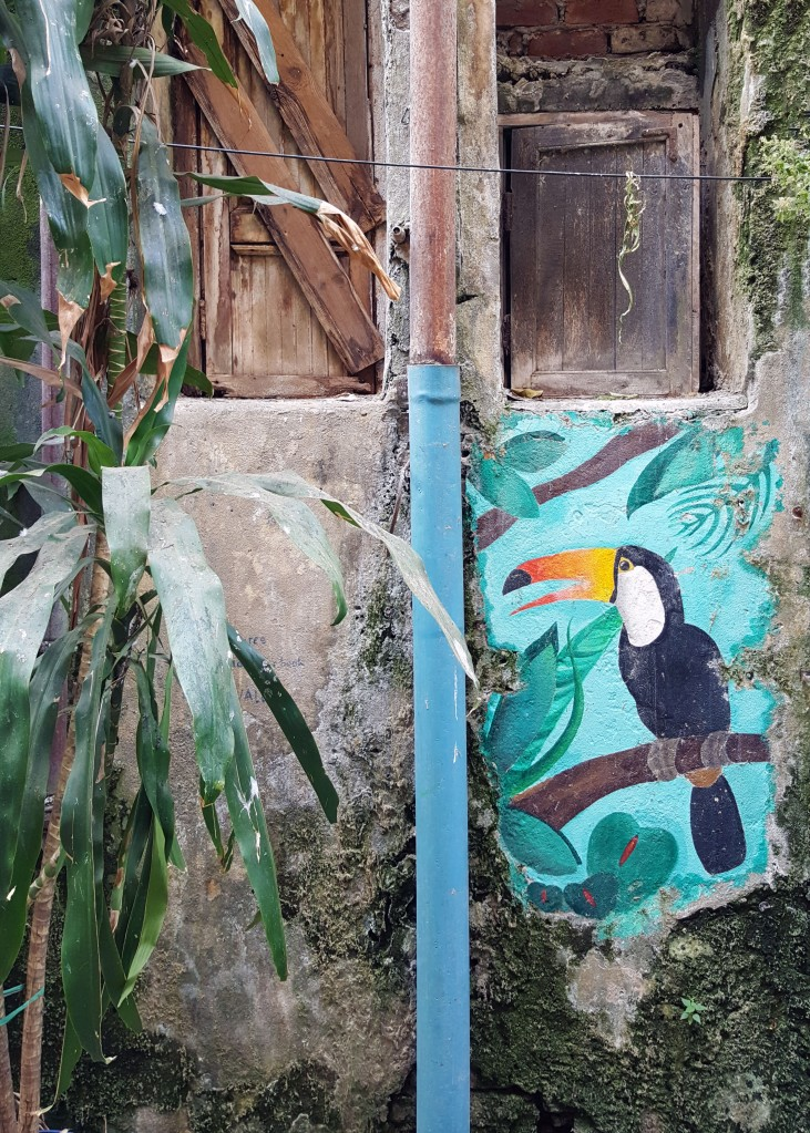 Mural with Tucan