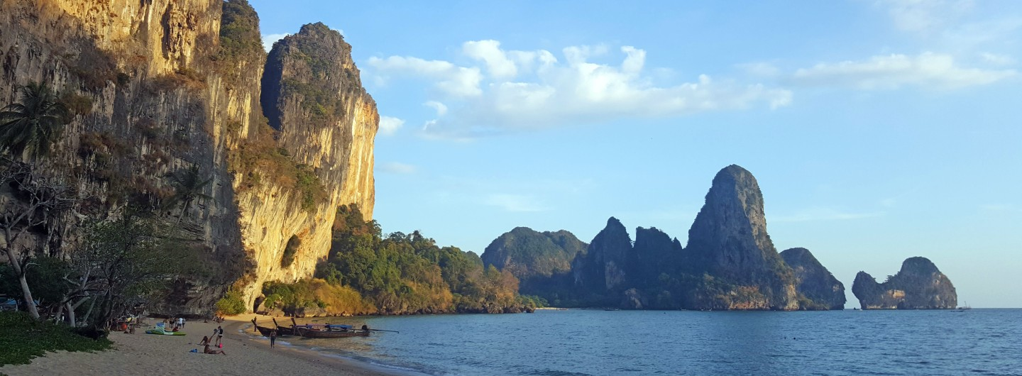 Karst rocks at Railay Beach