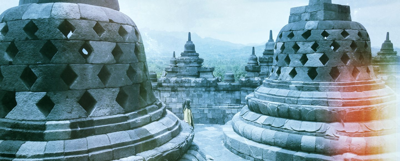 Borobudur temple, Java, Indonesia