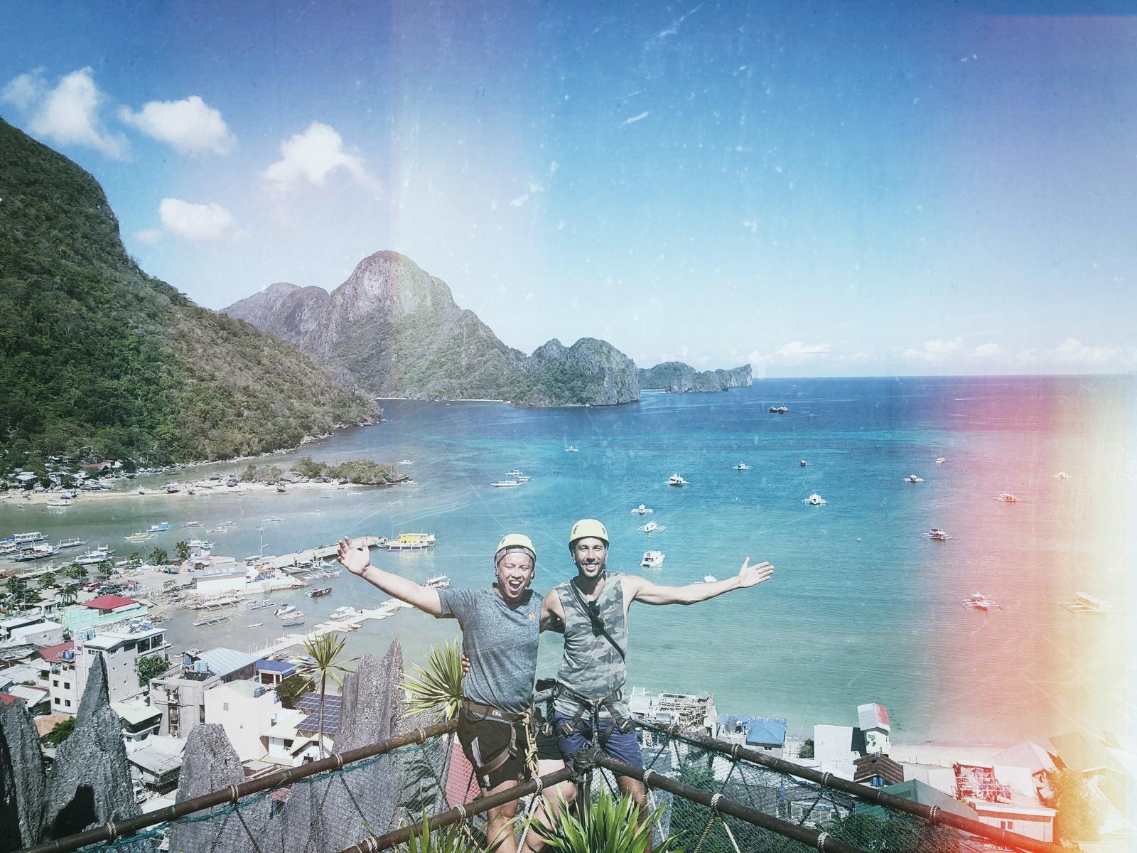 Breathtaking panorma of El Nido, Philippines