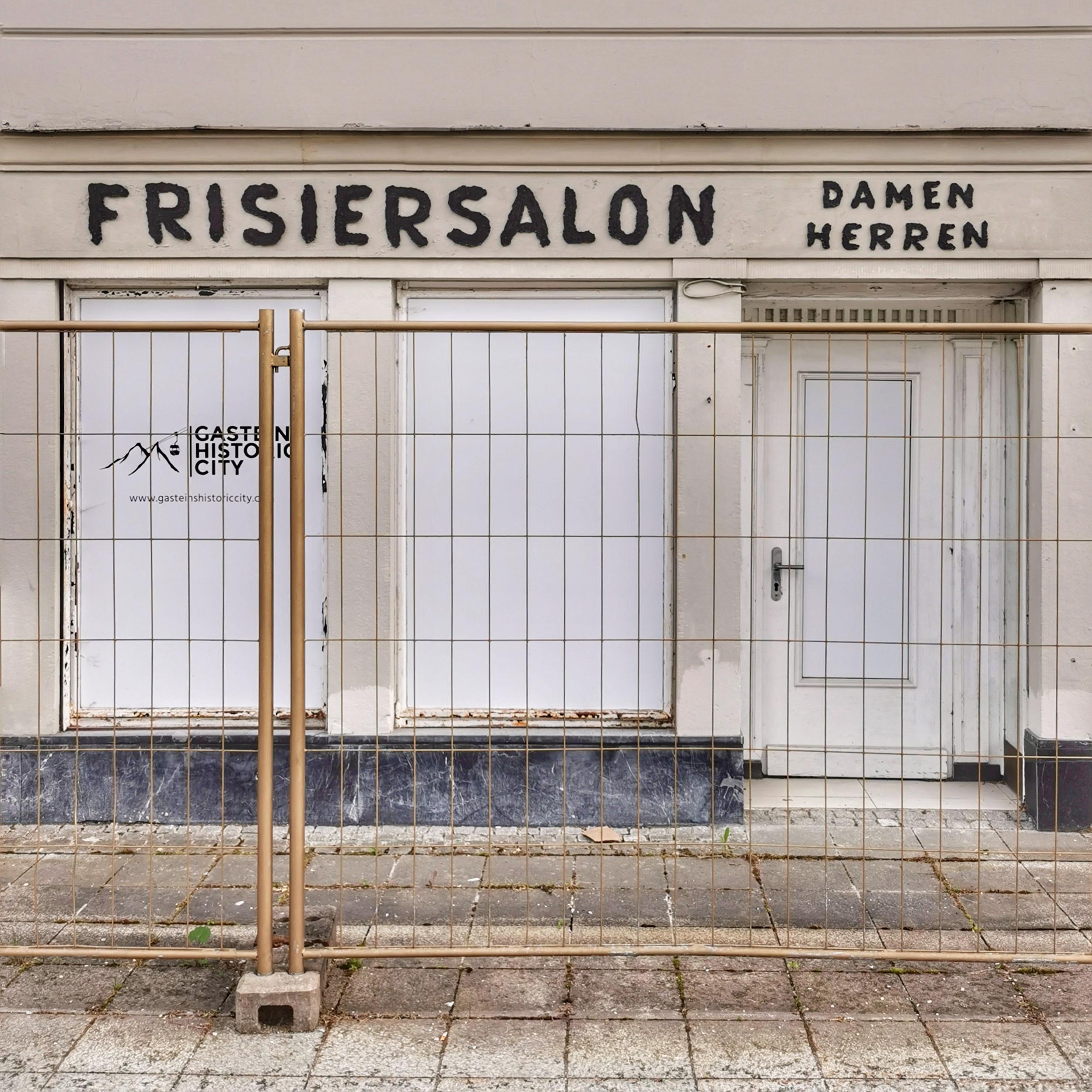 A former barbershop in Bad Gastein
