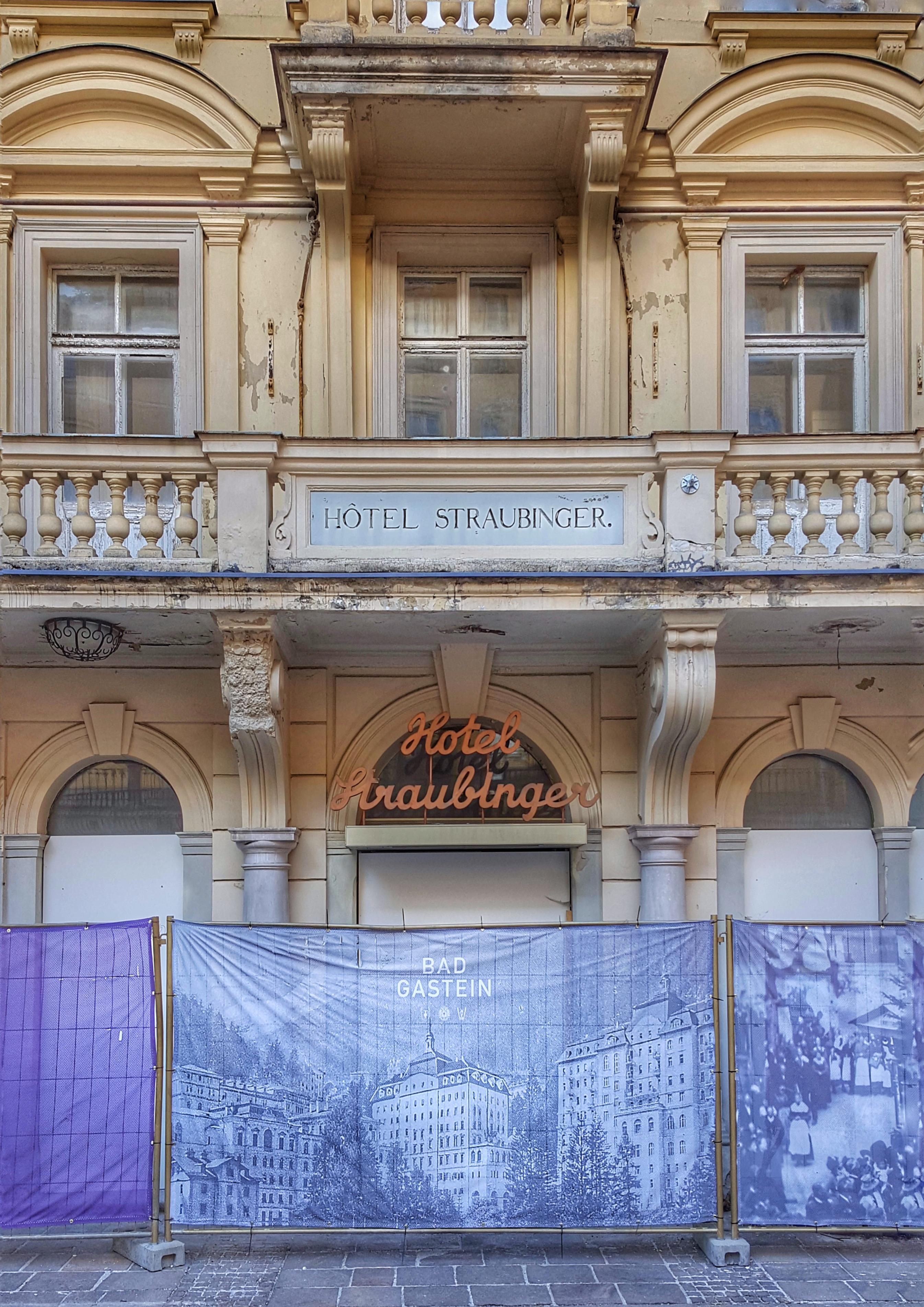 Former Hotel Straubinger in Bad Gastein