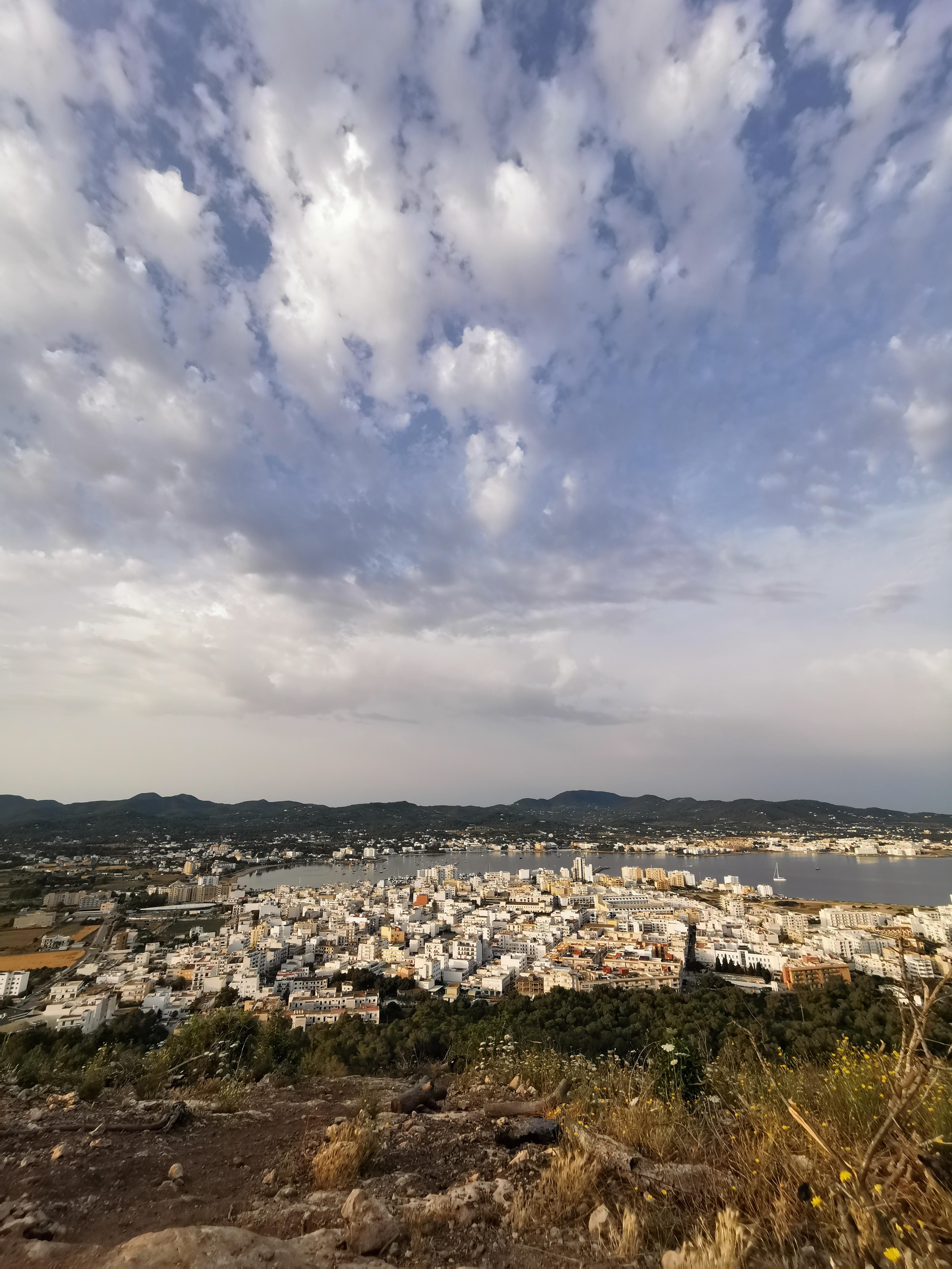 Panorama of Sant Antoni, Ibiza
