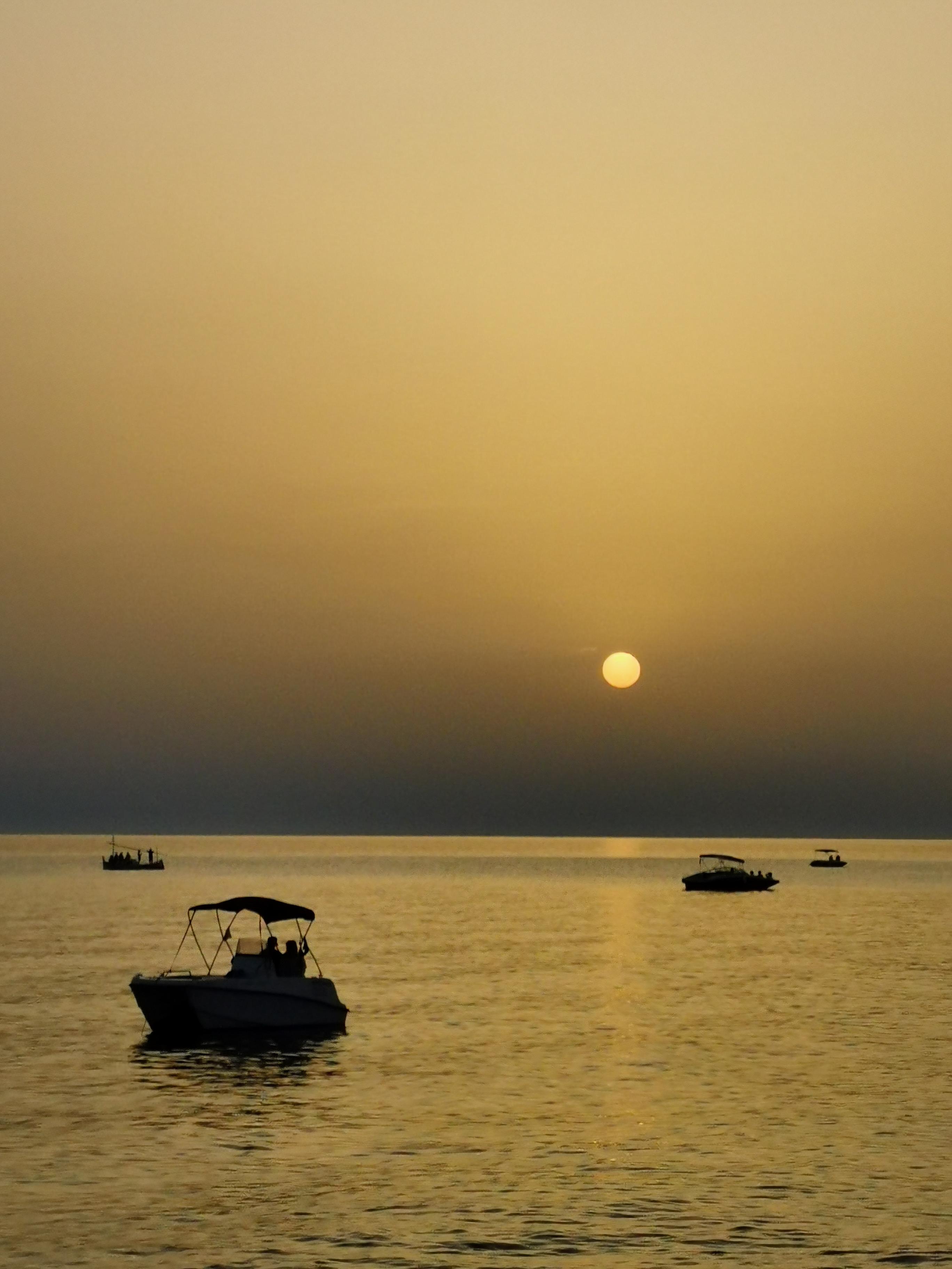Sunset seen from Café del Mar, Ibiza